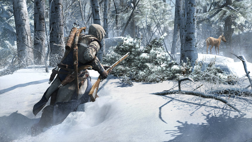 Hunting in Assassin's Creed III
