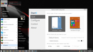 Start8: Windows 7 Style