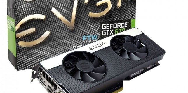 Nvidia GeForce GTX 670 EVGA 2GB Edition
