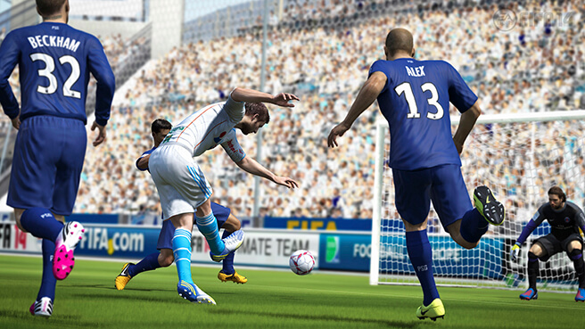 An insight to fifa 14 - pure shot